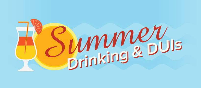 Summer Drinking and DUIs Infographic